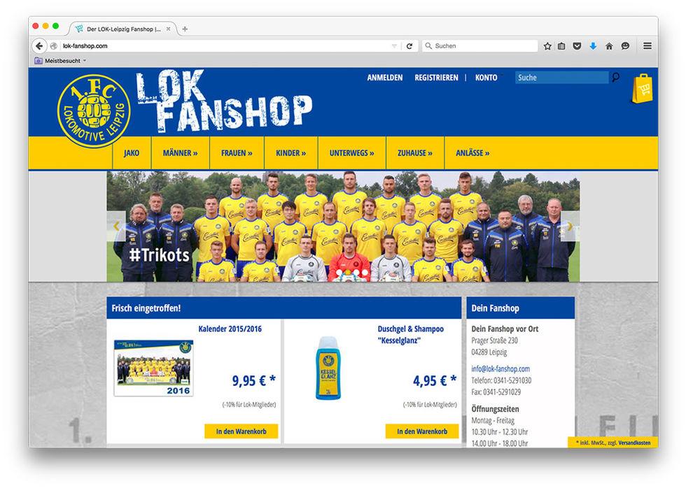 Fanshop 1 Fc Lokomotive Leipzig